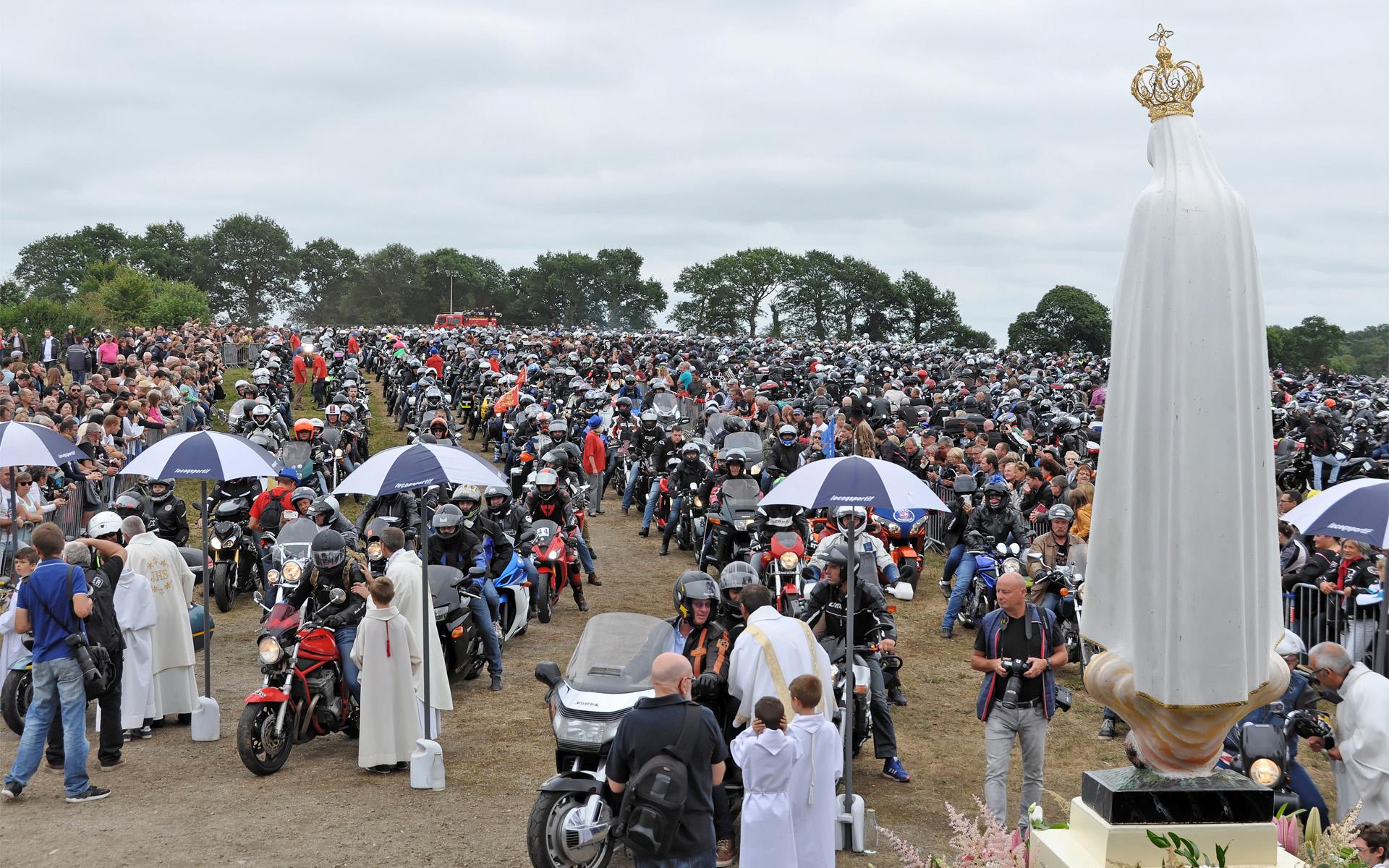Les 40 ans de la Madone des motards