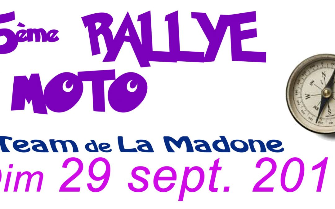 Rallye de la Madone