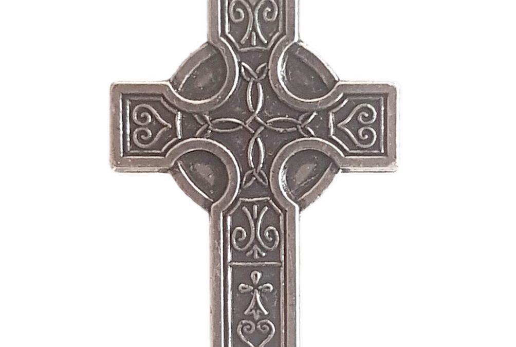 Pin's Croix Celte