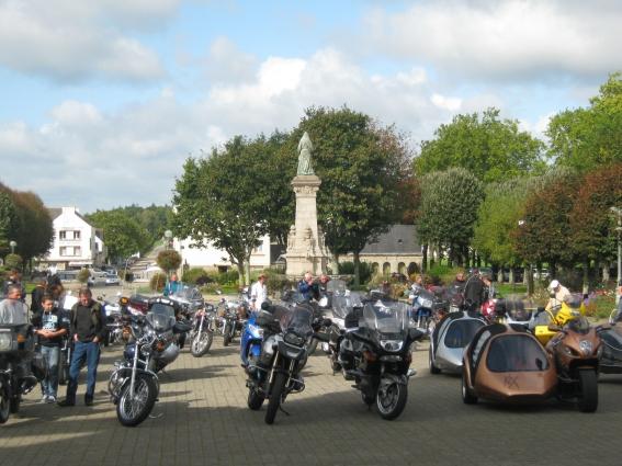 Pèlerinage des motards à Ste-Anne-d'Auray